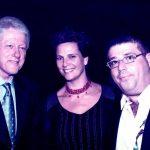 ביל קלינטון עם הילה ורני רהב